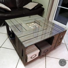 Pin on How to build a crate coffee table ideas Pin on How to build a crate coffee table ideas Pallet Patio Furniture, Crate Furniture, Furniture Projects, Furniture Design, Crate Table, Crate Decor, Diy Coffee Table, Home Decor Inspiration, Decor Ideas