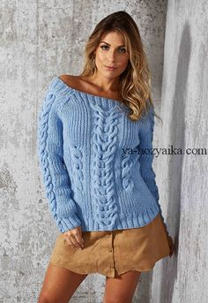 Пуловер с объемными косами Cable Sweater, Knit Cardigan, Cable Knit, Sweater Fashion, Crochet, Knitwear, Sweaters For Women, Knitting, Womens Fashion