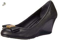 Cole Haan Women's Tali Grand Bow WDG65 Wedge, Black, 8.5 B US - Cole haan pumps for women (*Amazon Partner-Link)