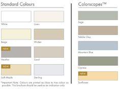 colour_chart.jpg (501×374) Pallisade cladding