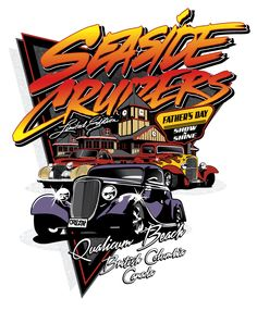 Seaside Cruizers put on a weekend of events culminating with the Father's Day Show 'n Shine in downtown Qualicum Beach. This was mentioned by Oprah Winfrey as one of the 10 best things to do on Father's Day. #seasidecruizers #shownshine #carshow #vintagecarshow #vintagecars #cars #fathersday #oprah #family #dad #event #qualicumbeach #vancouverisland