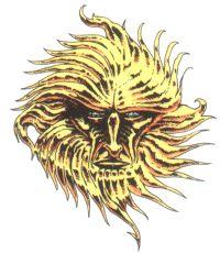 Pelor symbol with transparent background.