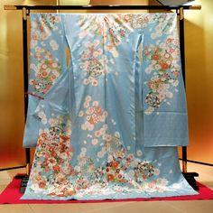 Kimono 着物 / Furisode 振袖 / 2015年『雪月花』シリーズ S-02
