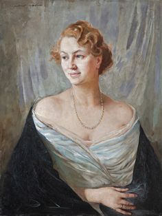 Maria Szantho - Portrait of Maria (Szantho?)