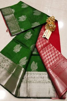 Kuppadam Pattu Sarees with Kanchi border