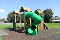 Our Fort Belknap is the perfect focal point for any play environment! Hosting a variety of exciting play features including a spiral slide, clatterbridge, firefighter's pole, tunnel and seating for up to 16 children, it will keep kids active for hours.  Encouraging physical, social, creative and imaginative play, the Fort Belknap promotes the development of fundamental movement skills as children are challenged to traverse around the equipment in new and exciting ways.