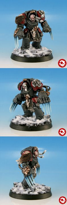 Space Wolves Wolf Guard Terminator (Space Wolves Army)