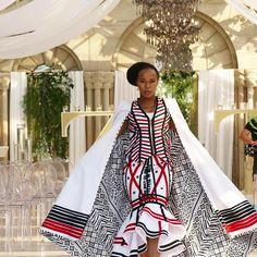 Wow so dramatic - ankara gown and cape African Inspired Fashion, Latest African Fashion Dresses, African Print Dresses, African Print Fashion, Africa Fashion, African Dress, African Prints, Women's Fashion, African Wedding Attire