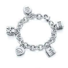 Tiffany Lock Bracelet Icons Lock Charm Bracelet
