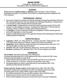 Business Analyst Resume Sample   Http://exampleresumecv.org/business Analyst  Sample Business Resumes