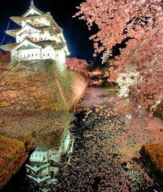 写真:藤田 聡 弘前さくらまつり(青森県弘前市)が行われる弘前公園の桜は、特産のりんご剪定技術で桜自体が非常に元気。お花見の見応えが圧倒的です!日本三大夜桜のライトアップも素晴らしく、日本三大桜名所とダブル指定。名実ともに、日本一の桜祭りです!「弘前さくらまつり」の人気スポットや穴場の中から、感動的な絶景ポイントを厳選して紹介。特に外堀の花筏や西濠は、記念写真や風景写真の撮影スポットとして、断然おすすめです!