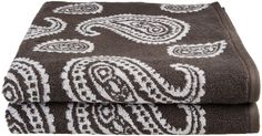 Paisley 100% Cotton 2-Piece Bath Towel Set