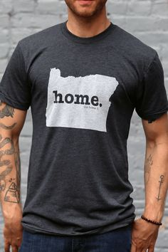 The Home. T - Oregon Home T, $28.00 (http://www.thehomet.com/oregon-home-t/)