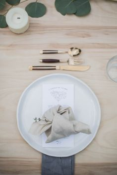 Super casual place setting   Kinfolk  Dinner Plate — Handmade Studio TN