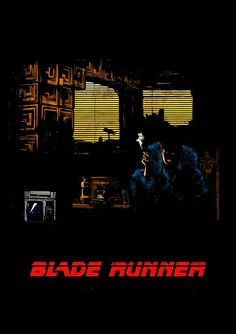 Blade Runner Art, Blade Runner 2049, Cinema Posters, Film Posters, Stanley Kubrick, Alfred Hitchcock, Renoir, Martin Scorsese, Sean Young