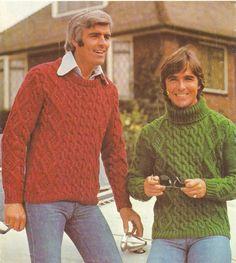Men s Aran Sweaters knitting pattern. Instant PDF download! by  VBlittlecraftshop on Etsy 2ec54212b