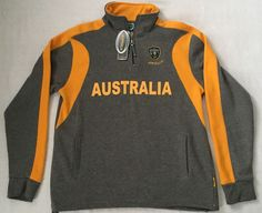 Australia Rugby Apparel Men's Pullover Size Large #AustraliaApparel #Pullover