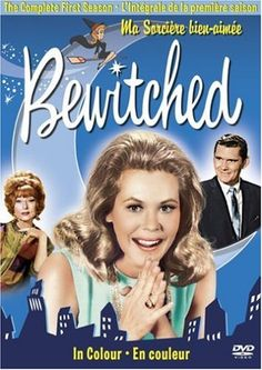 Bewitched starring Elizabeth Montgomery, Dick York and Agnes Moorehead - This was one of my favorite shows as a kid. Elizabeth Montgomery, Robert Montgomery, 70s Tv Shows, Old Shows, Great Tv Shows, Childhood Tv Shows, My Childhood Memories, Sweet Memories, Top Tv