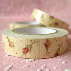 Pretty fabric tape...need some!