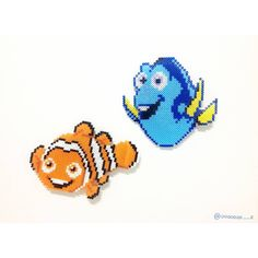 Finding Dory perler beads by ooooooo__r