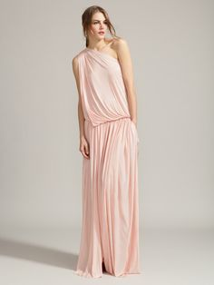 Jersey Draped Grecian One Shoulder Maxi by Emilio Pucci on Gilt