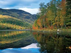 New Hampshire White Mountain Wonderland  This is the kind of scenery that inspires us to make Cherry Furniture!