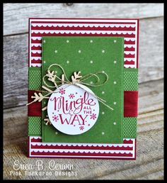 Pink Buckaroo Designs: Fancy Friday- Trim the Tree and Mingle All The Way