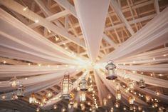 Creëer een warme sfeer op je bruiloft met lantaarntjes, geschikt voor een bruiloft in ieder seizoen!