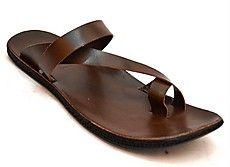 Zoot24 Brown Men Sandals - N2TALIO