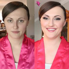 Just when you thought only brides get to have all the fun  #beforeandafter #makeovermagic #bridesmaidgoals Makeup by #kayanabeauty #kayanabeautytrends