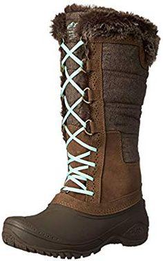 4cd8b90fec79 Amazon.com  The North Face Shellista II Boot Tall Womens Desert Palm  Brown Surf Green 8  Camera   Photo