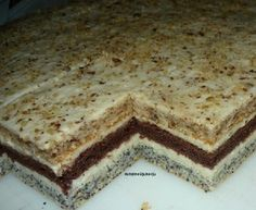 Albanian Recipes, Bosnian Recipes, Croatian Recipes, Gourmet Recipes, Sweet Recipes, Baking Recipes, Cookie Recipes, Dessert Recipes, Kolaci I Torte