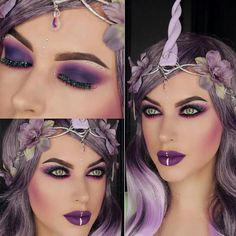 Unicorn makeup for Halloween                                                                                                                                                                                  More