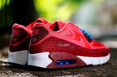 Nike Air Max 90 Breathe- Team Red, White, and Blue