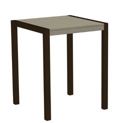 37 Recycled EarthFriendly Outdoor Counter Table  Sand with Bronze Frame *** Want to know more, click on the image.  This link participates in Amazon Service LLC Associates Program, a program designed to let participant earn advertising fees by advertising and linking to Amazon.com.