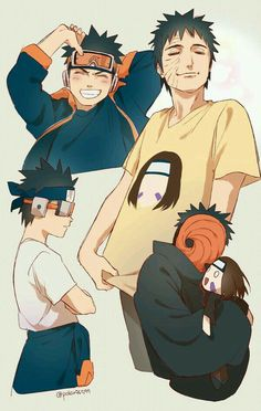 Obito and Rin Well heck. Naruto Kakashi, Anime Naruto, Naruto Shippuden Sasuke, Madara Uchiha, Naruto Meme, Naruto Fan Art, Boruto, Otaku Anime, Naruhina