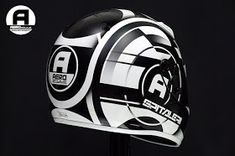 Racing Helmets Garage: Arai SK6 A.M. Spitaleri 2016 by Aerostyle Aerografie