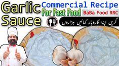 Garlic Sauce Recipe Easy   Garlic Sauce For All Fast Food   Lebanese Sauce Toum, Toom   By BaBa Food - YouTube Potato Samosas Recipe, Samosa Recipe, Masala Recipe, Pureed Food Recipes, Pizza Recipes, Sauce Recipes, How To Store Ginger, Baba Food, Baba Recipe