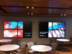 University of Michigan uses digital signage in their student union - see more photos in our gallery!