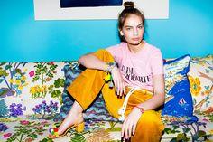 Holly Golightly Copenhagen - SS16 Campaign / Photo: Trine Hisdal / Styling: Julie Svendal / Instructors: Tone Reumert & Julie Svendal / Make-up: Pernille Holm / Model: Nina Marker - Elite Models / RODARTE / AQUAZURRA / AGGER FLACHS / SHOROUK