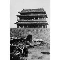 "Buyenlarge 'Main Gate of Peking China During Boxer Rebellion' Photographic Print Size: 36"" H x 24"" W x 1.5"" D"