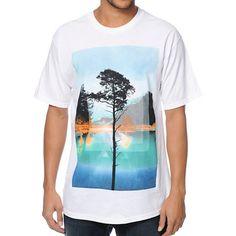 Empyre Lakeside Paradise white tee shirt