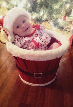 Christmas photo for baby :)