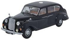 Oxford #Diecast Model - Black Austin Princess Late #Car - 1:43 Scale - AP007