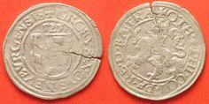 1525 Pfalz-Neuburg PFALZ-NEUBURG 1/2 Batzen 1525 OTTHEINRICH & PHILIPP Silber ERHALTUNG! # 88233 ss-vz