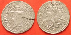 1525 Pfalz-Neuburg PFALZ-NEUBURG 1/2 Batzen 1525 OTTHEINRICH & PHILIPP…