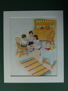 1950s Vintage Enid Blyton Print Of Loving by PrimrosePrints