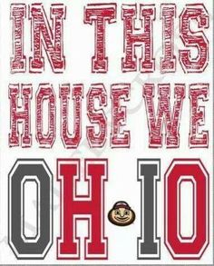 Love Those Buckeyes!!!