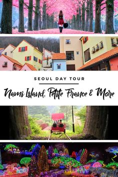 Discover Gapyeong, Gyeonggi's famous attractions — Nami Island, Petite France, Garden of Morning Calm & Gangchon Rail Bike — with this amazing day tour trip from Seoul with KKday! Seoul Korea Travel, Asia Travel, Seoul Travel Guide, Travel Tips, Places To Travel, Travel Destinations, Jeju Island, Island Tour, South Korea