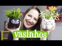 Vasos para plantas: 60 modelos e ideias para fazer você mesmo